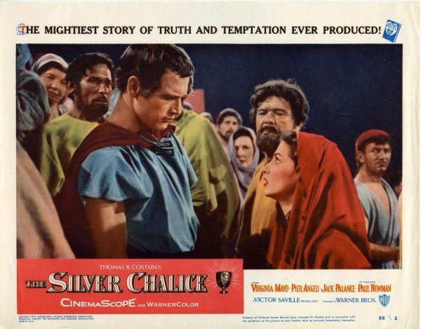 The Silver Chalice - Lobby card (1)